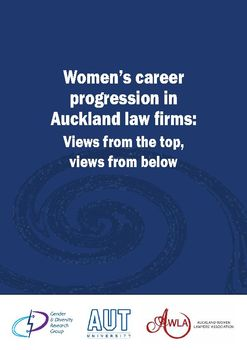 Women S Career Progression In Auckland Law Firms